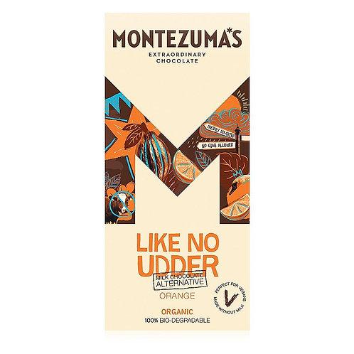 Montezuma Like No Udder with Sweet Orange (90g)