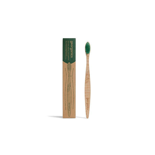 Beechwood Toothbrush Firm Bristles