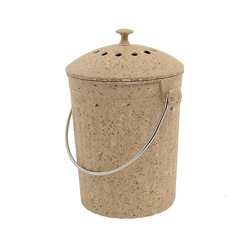Compost Pail - Eco Natural Fibre Pail