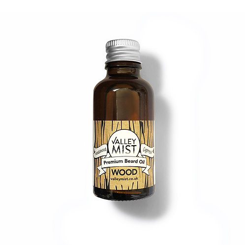 Valley Mist - Premium Beard Oil - Sandalwood & Cypress