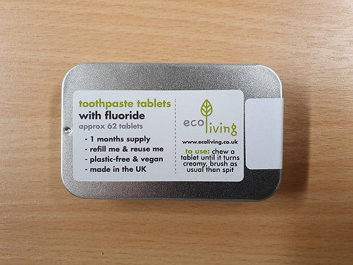 Toothpaste Tablets (Fluoride)