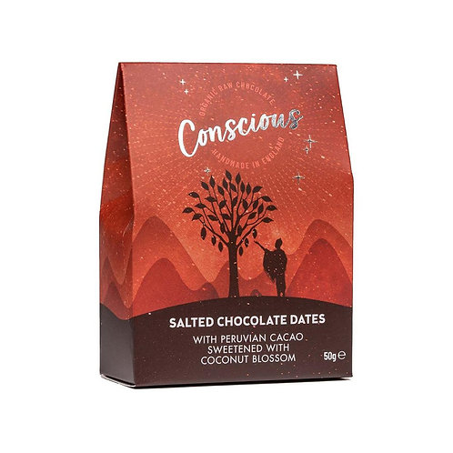 Conscious Chocolate Dates (50g)