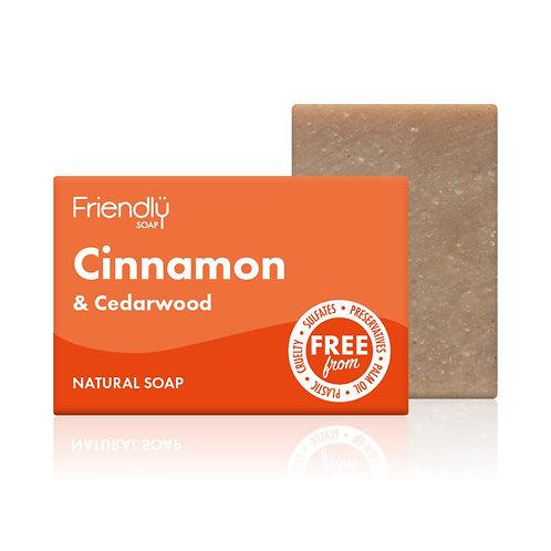 Cinnamon & Cedarwood Soap (90g)