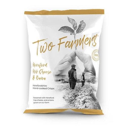 Two Farmers - Hop Cheese & Onion Crisps
