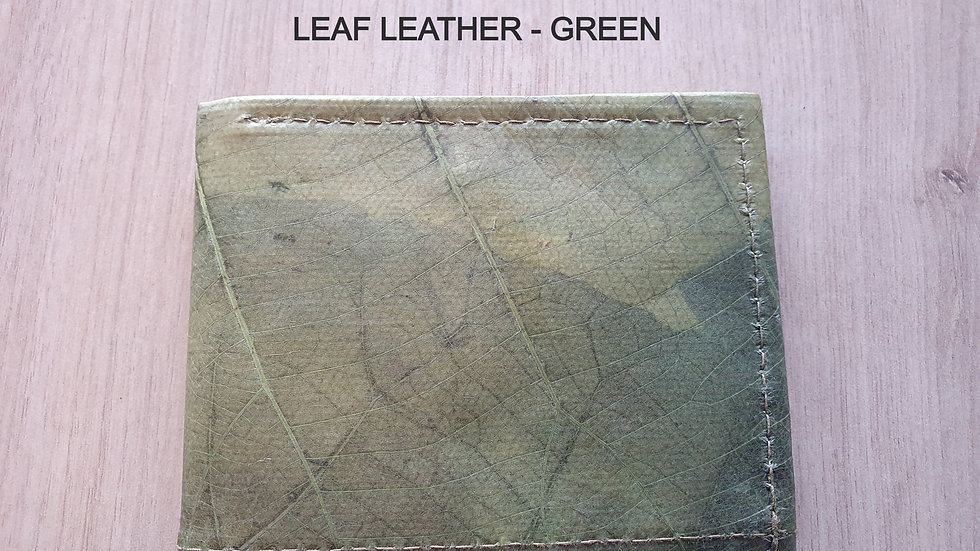 Wallet in Leaf Leather