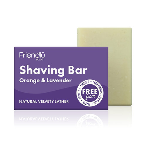 Shaving Bar - Orange & Lavender (90g)