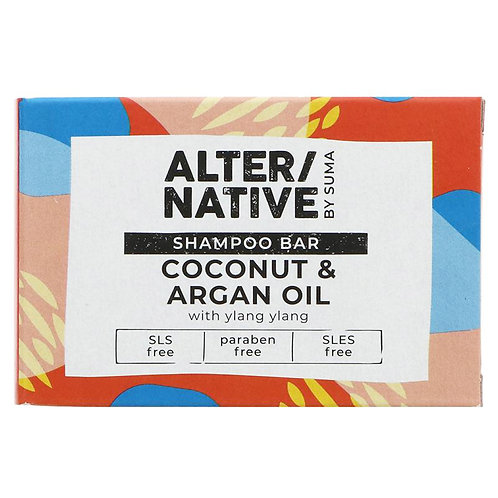 Alternative Coconut Argan Oil Shampoo Bar