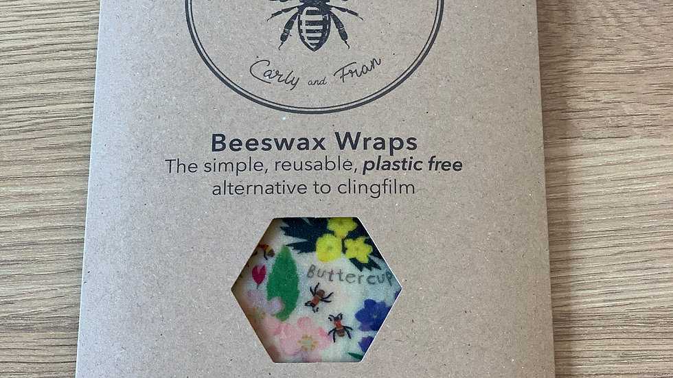 Beeswax Food Wraps Lunch Pack (Children)