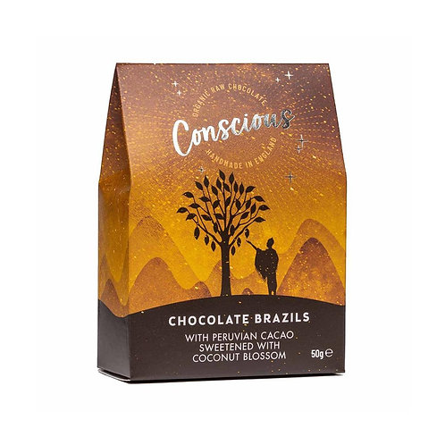 Conscious Chocolate Brazils (50g)