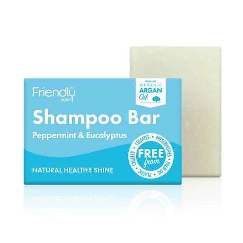 Shampoo Bar - Peppermint & Eucalyptus (90g)