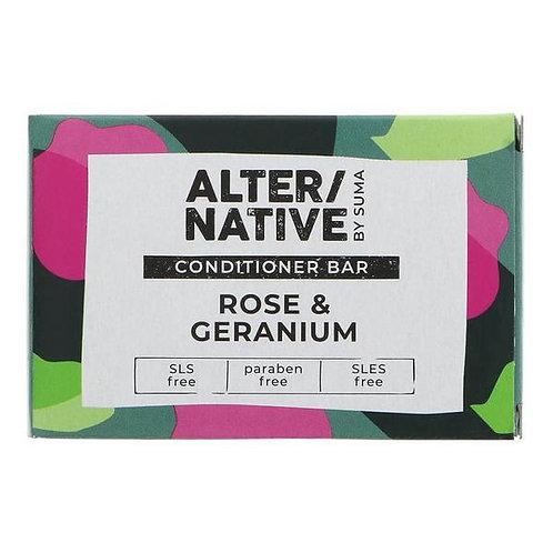 Alternative Rose & Geranium Conditioner Bar