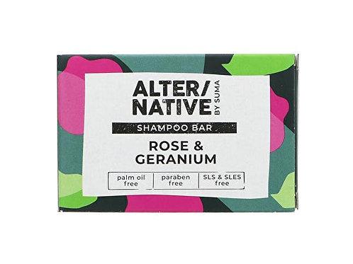 Alternative Rose & Geranium Shampoo Bar