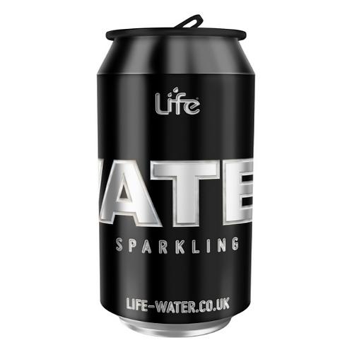 Life Sparkling Spring Water (330ml BPA Free Can)