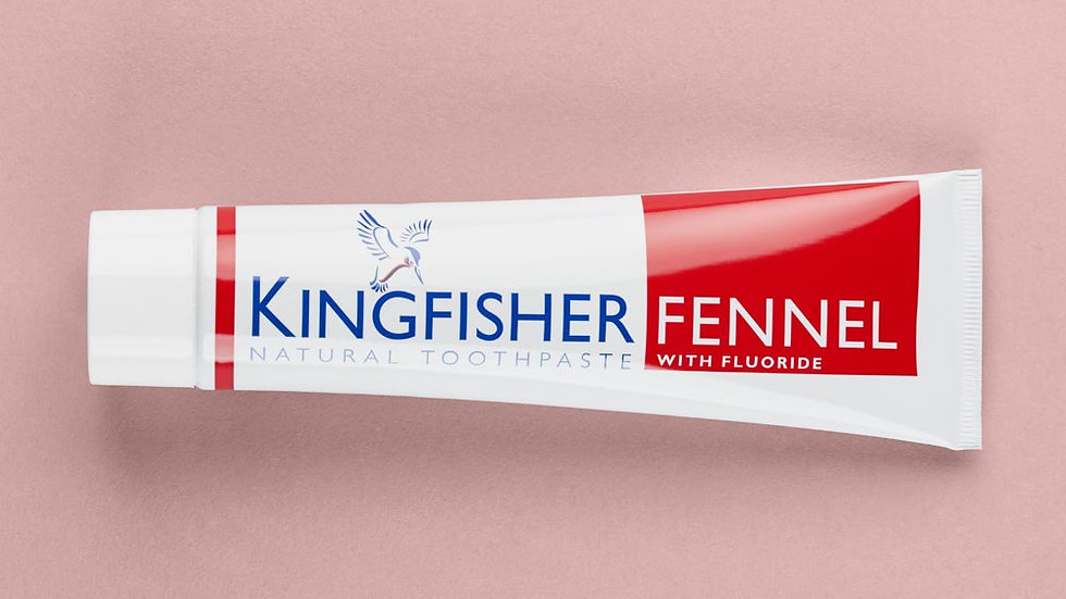 Kingfisher Toothpaste - Fennel