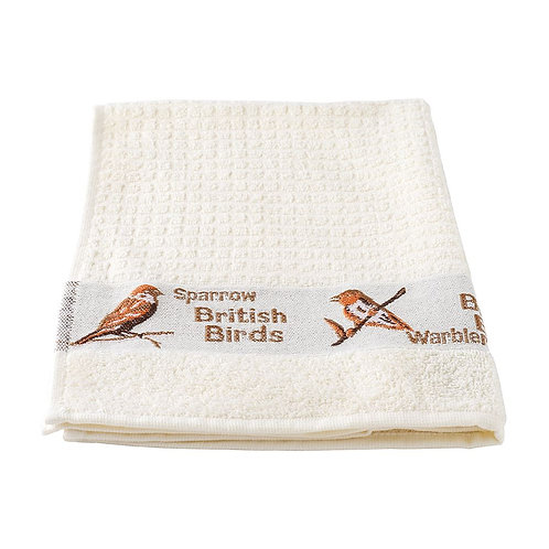 Terry Tea Towel - Embroidered