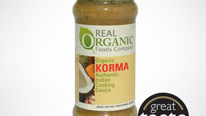 Real Organic - Korma Indian Cooking Sauce (350g)