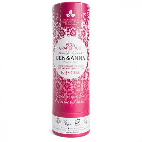Ben & Anna - Pink Grapefruit Deodorant Stick