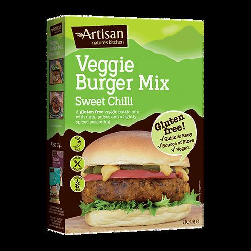 Veggie Burger Mix - Sweet Chilli - Gluten-free