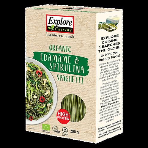 Organic Edamame & Spirulina Spaghetti