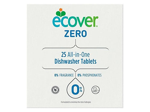 Ecover Zero Dish Washer Tablets - All In One (25s)
