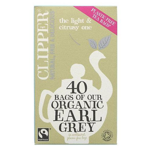 Clipper Earl Grey Tea (40's)