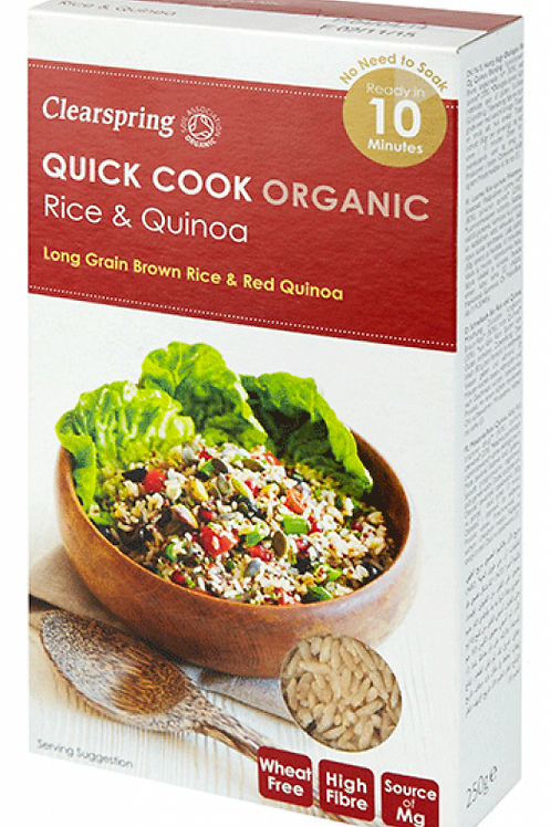 Clearspring Organic Quick Cook Rice & Quinoa