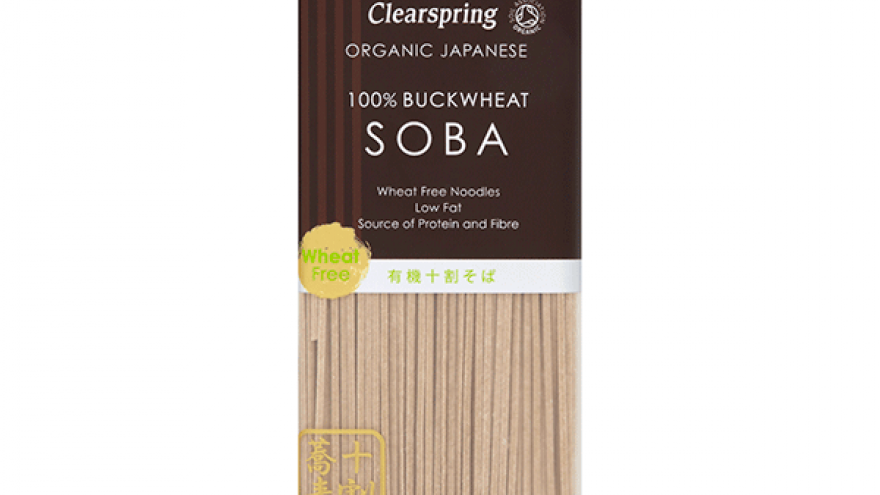 Clearspring Organic 100% Buckwheat Soba Noodles