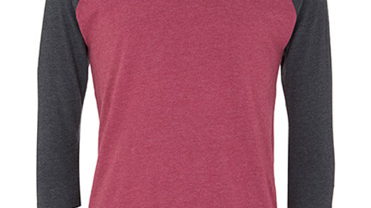 Salvage Unisex Baseball T Shirt
