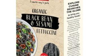 Black Bean & Sesame Fettuccine