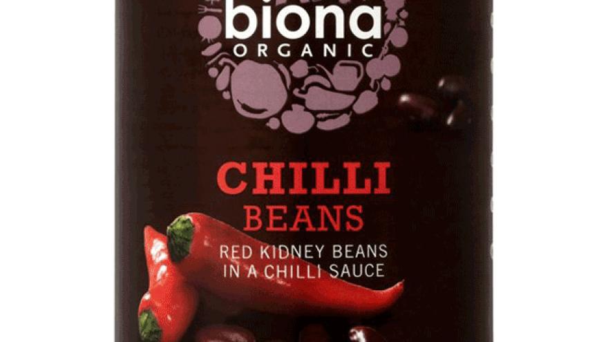 Biona Chilli Black Beans