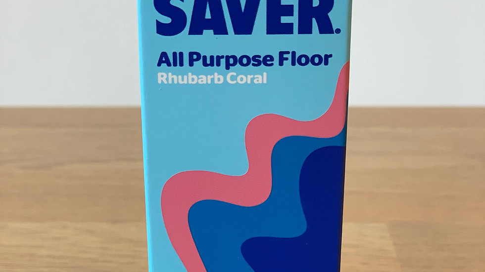 All Purpose Floor Rhubarb Coral