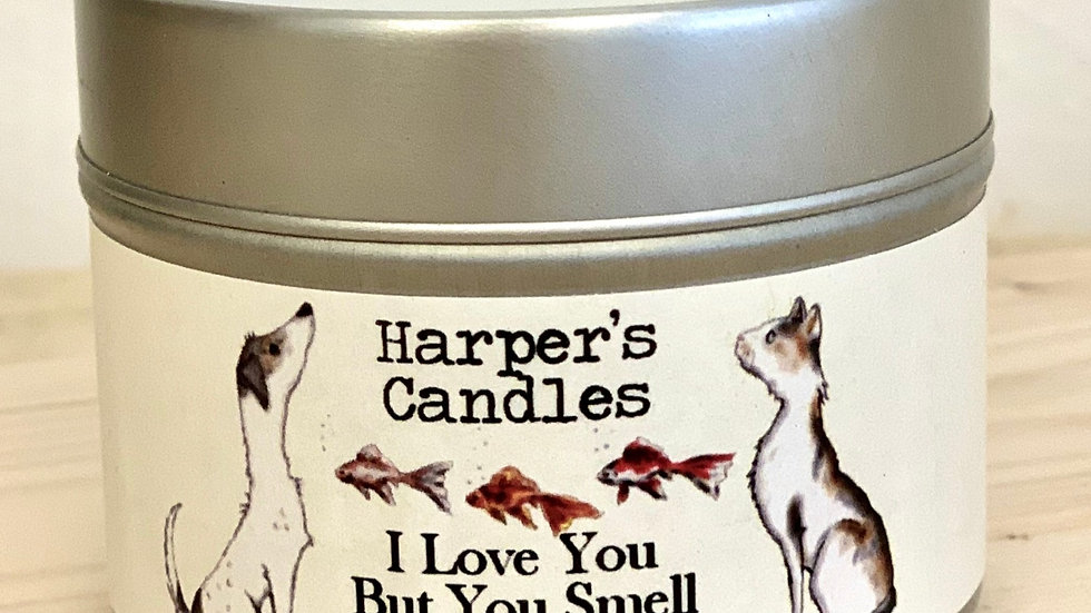 Harpers Candles I Love You But You Smell (Small)