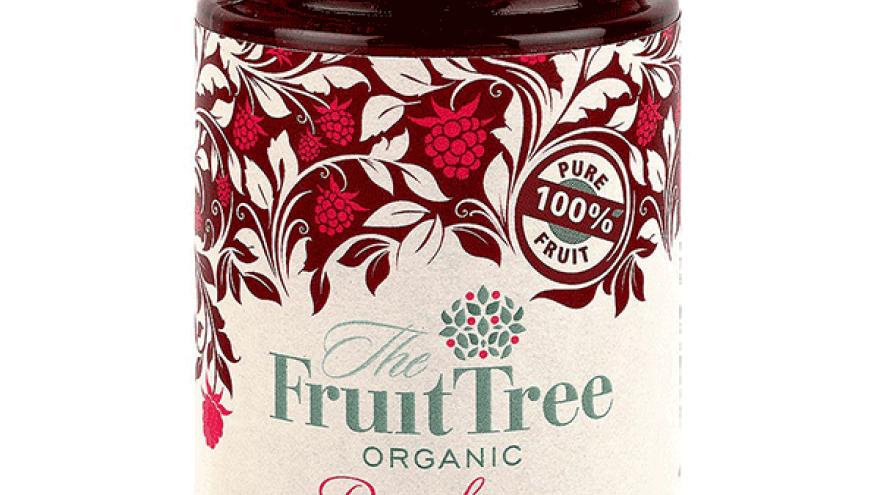 Fruit Tree Organic Raspberry Fruit Spread