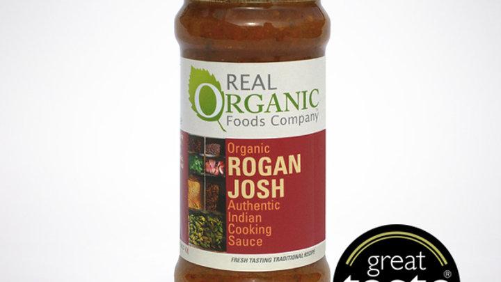 Real Organic Rogan Josh Indian Cooking Sauce (350g)