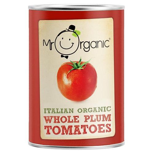 Mr Organic Peeled Plum Tomatoes