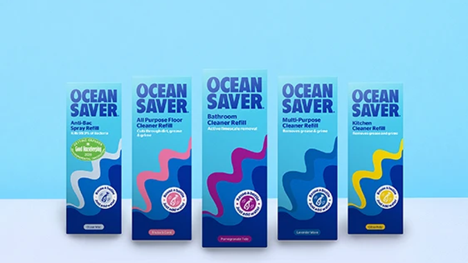 Five Pack of Ocean Saver Cleaning Pods
