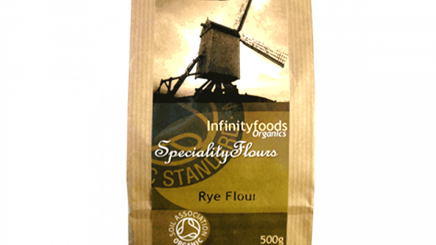 Infinity Organic Rye Flour (Whole) 500g