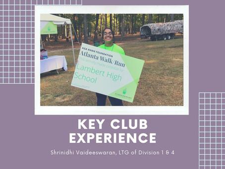 Key Club Experience