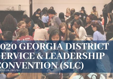 2020 Georgia Key Club Service & Leadership Conference (SLC)