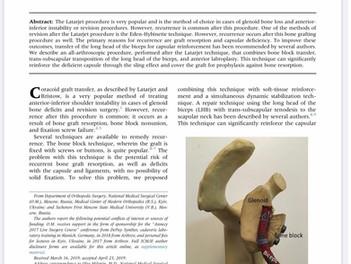 Помочь пациенту с рецидивом вывиха плеча после операции можно.