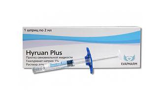 HYRUAN PLUS, Гируан Плюс, уколы в колено, гиалуроновая кислота в колено