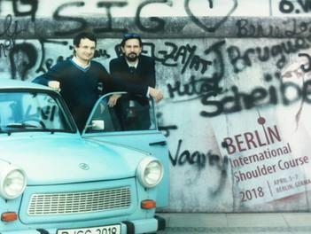 Я у Берлинской стены!
