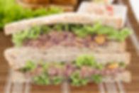 Pumpkin Brown Rice Sandwich 南瓜三明治 (Veg)