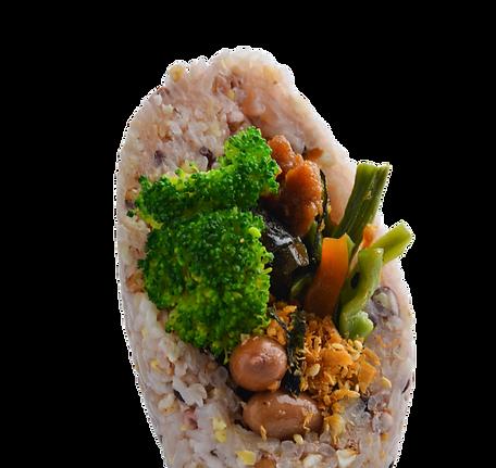 Emperor Vegetable 皇帝菜饭团 (Veg)