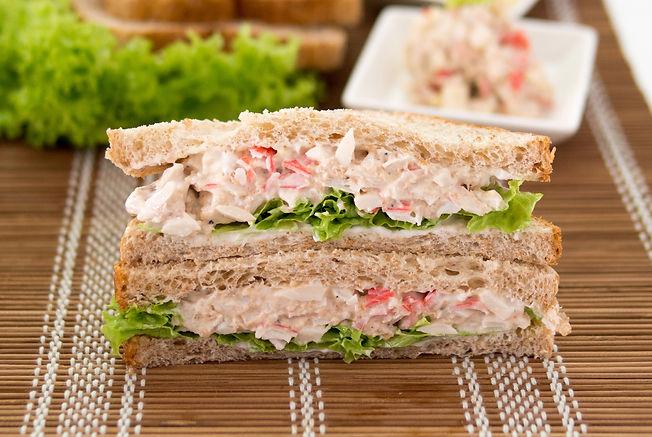 Crab Tuna Brown Rice Sandwich蟹金枪鱼三明治