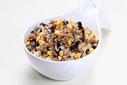 Black Fungus Chicken Oat Rice 黑木耳鸡燕麦饭