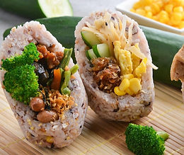 Customize Rice Roll 自制饭团