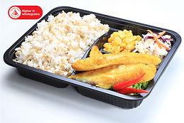 Dory Fish (+Salad) 咖喱腌鲂鱼便当
