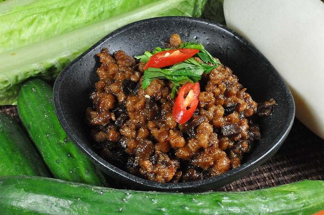Mushroom Braised Meat 香菇素燥卤 (Vegan素) 1kg