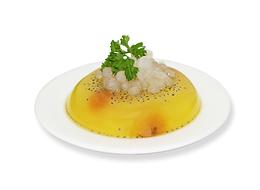 Fresh Lemon Jelly with Boba Pearl 天然柠檬果冻寒天